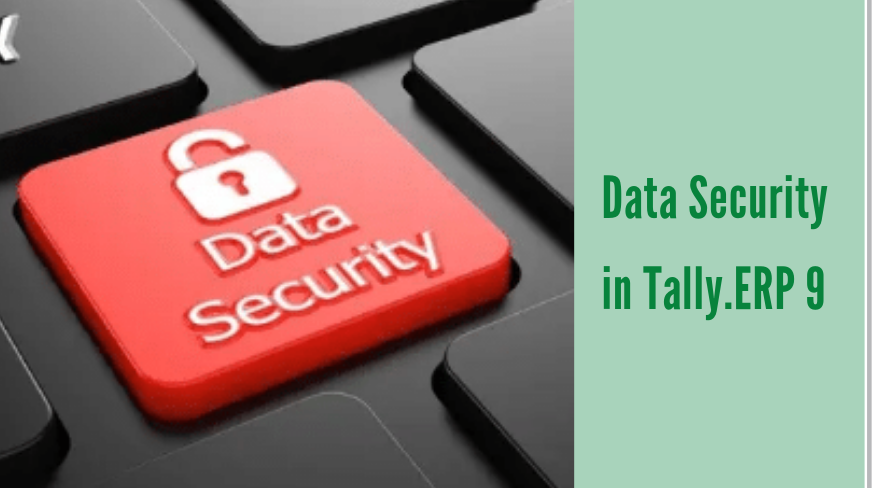 Data Security in Tally.ERP 9