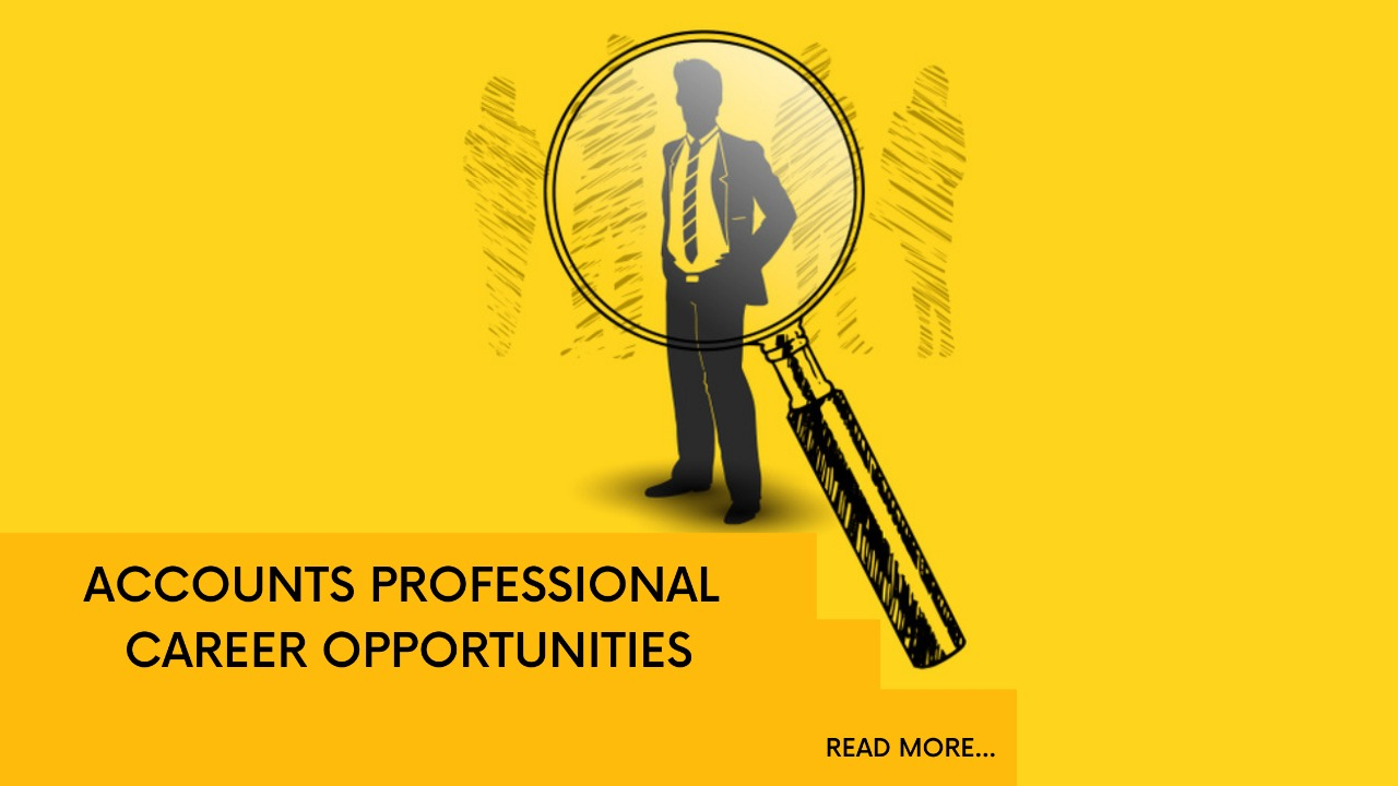 Accounts Professional Career Opportunities in India